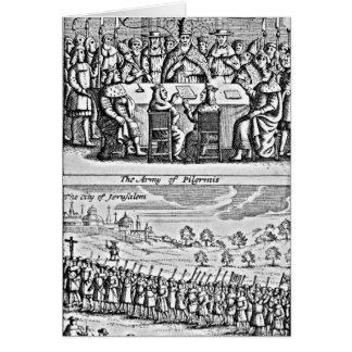 The History of the Holy War: Greeting Card