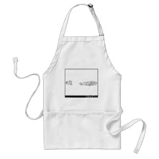 The History of the Seven Young Cats Adult Apron