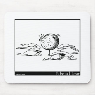 The History of the Seven Young Geese Mouse Pad