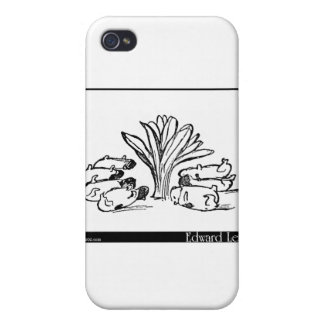 The History of the Seven Young Guinea Pigs iPhone 4 Cover
