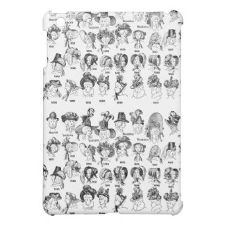The History of Women's Hats iPad Mini Cover