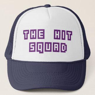 The Hit Squad Krew Kap - White/Blue Trucker Hat