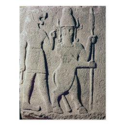 The Hittite God Uomi, Karkemish Postcard
