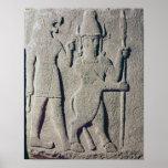 The Hittite God Uomi, Karkemish Poster