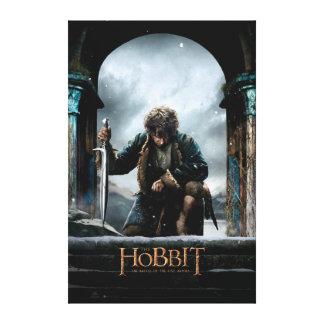 The Hobbit - BILBO BAGGINS™ Movie Poster Canvas Print