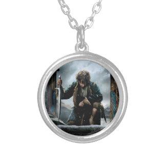 The Hobbit - BILBO BAGGINS™ Movie Poster Round Pendant Necklace