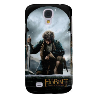 The Hobbit - BILBO BAGGINS™ Movie Poster Samsung Galaxy S4 Cover
