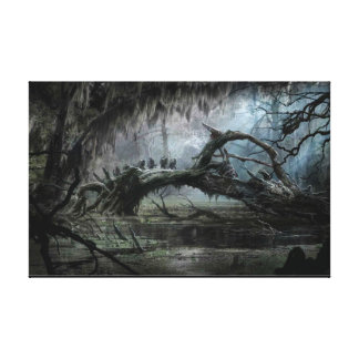 The Hobbit: Desolation of Smaug Concept Art 3 Canvas Print