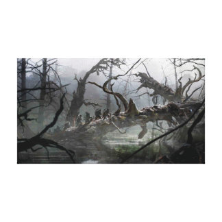 The Hobbit: Desolation of Smaug Concept Art 4 Canvas Print