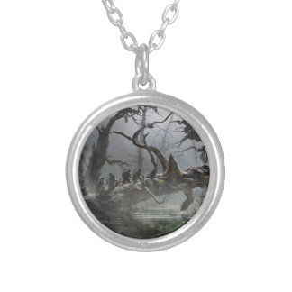 The Hobbit: Desolation of Smaug Concept Art 4 Round Pendant Necklace