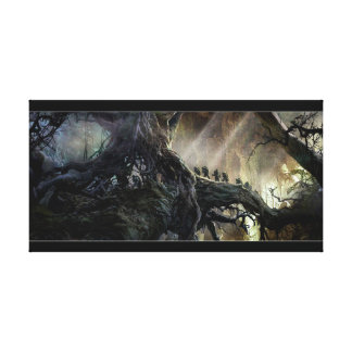 The Hobbit: Desolation of Smaug Concept Art Canvas Print