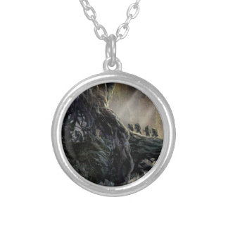 The Hobbit: Desolation of Smaug Concept Art Round Pendant Necklace