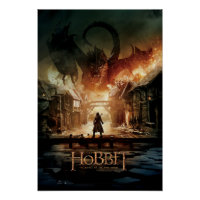 The Hobbit - Laketown Movie Poster