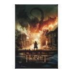 The Hobbit - Laketown Movie Poster Canvas Print
