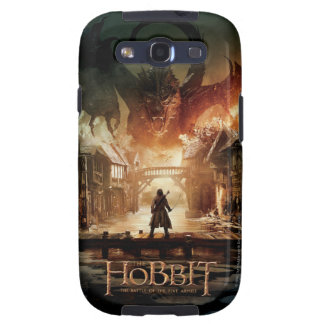 The Hobbit - Laketown Movie Poster Samsung Galaxy S3 Cases
