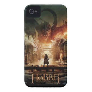 The Hobbit - Laketown Movie Poster iPhone 4 Case