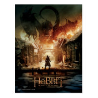 The Hobbit - Laketown Movie Poster Postcard