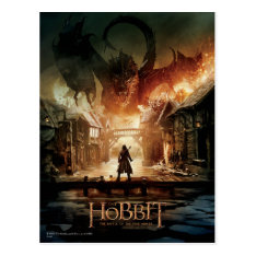The Hobbit - Laketown Movie Poster Postcard at Zazzle
