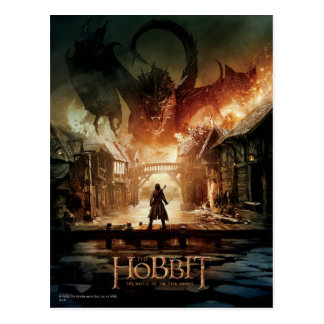 The Hobbit - Laketown Movie Poster Postcard