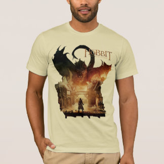 The Hobbit - Laketown Movie Poster T-Shirt