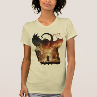 The Hobbit - Laketown Movie Poster T-shirts