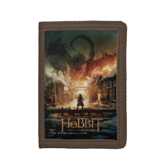 The Hobbit - Laketown Movie Poster Trifold Wallets