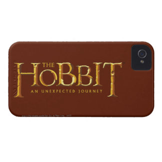 The Hobbit Logo Gold iPhone 4 Case