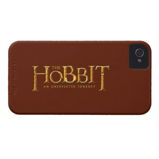 The Hobbit Logo Gold iPhone 4 Cover
