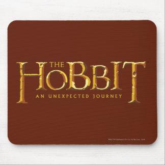 The Hobbit Logo Gold Mousepad