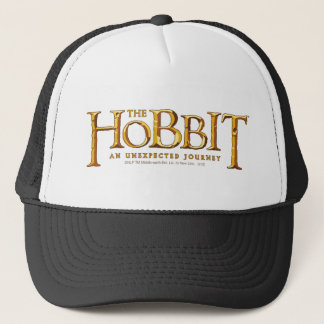 The Hobbit Logo Gold Trucker Hat