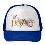 The Hobbit Logo Over Mountains Mesh Hats