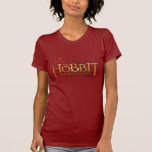 The Hobbit Logo Over Mountains T Shirts