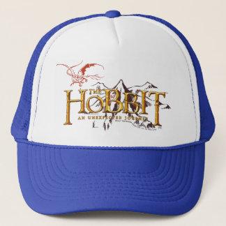 The Hobbit Logo Over Mountains Trucker Hat