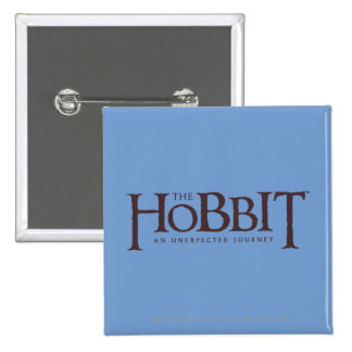 The Hobbit Logo Solid Button