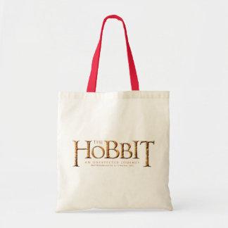 The Hobbit Logo Textured Budget Tote Bag