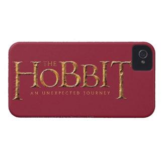The Hobbit Logo Textured Case-Mate iPhone 4 Case