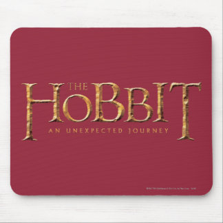 The Hobbit Logo Textured Mouse Pad