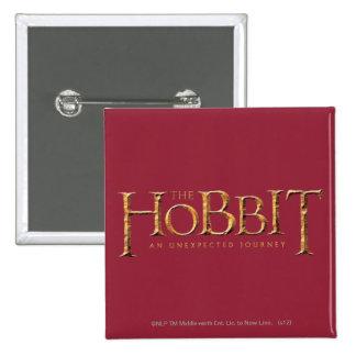 The Hobbit Logo Textured Pinback Buttons