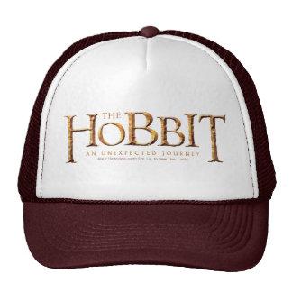 The Hobbit Logo Textured Trucker Hat