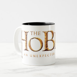 The Hobbit Logo Textured Two-Tone Coffee Mug