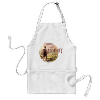 The Hobbit Logo with BAGGINS™ Back Adult Apron