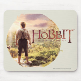 The Hobbit Logo with BAGGINS™ Back Mouse Pad