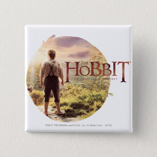 The Hobbit Logo with BAGGINS™ Back Pinback Button