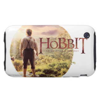 The Hobbit Logo with BAGGINS™ Back Tough iPhone 3 Case