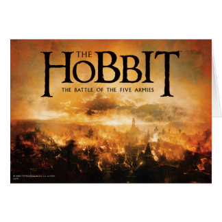 The Hobbit: THE BATTLE OF FIVE ARMIES™ Logo Card