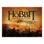 The Hobbit: The Battle of the Five Armies Logo Poster