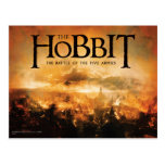 The Hobbit: The Battle of the Five Armies Logo Post Cards