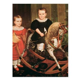 The Hobby Horse, c.1840 Postcard