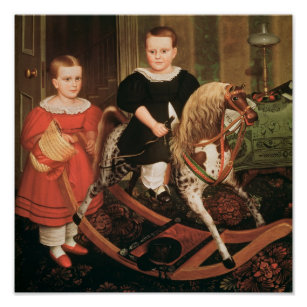 The Hobby Horse, c.1840 Poster