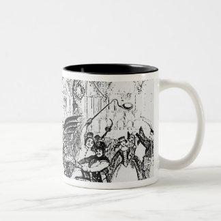 The Hobby-Horse Two-Tone Coffee Mug